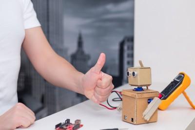 ready-assembled robot